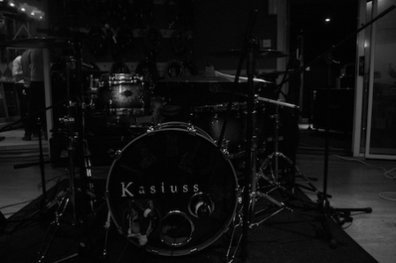 Kasiuss record latest single at Fortress Studios in London