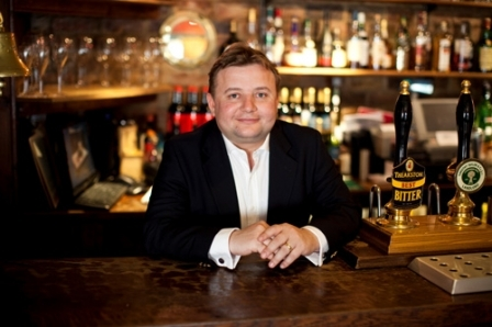 Michael Ibbotson, of the Durham Ox was recently voted Publican of the Year 2011