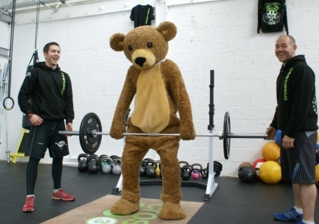 Marty Bear's Fundraising Workout At CrossFit HG3