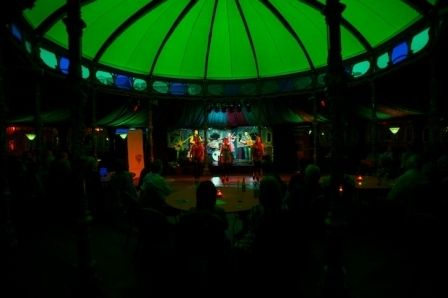 Spiegeltent in Harrogate