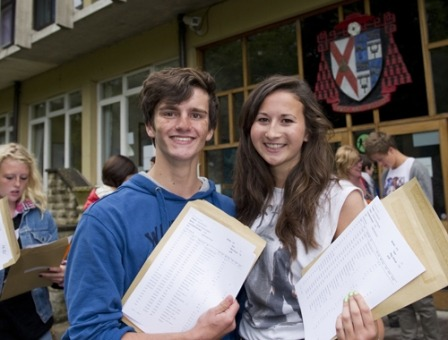 St John Fisher celebrates highest ever GSCE results
