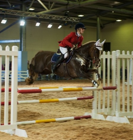 Graham & Tina Fletcher - search for Talented Show Jumper