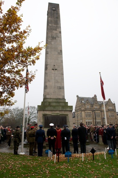 Harrogate Remembrance Sunday 2011
