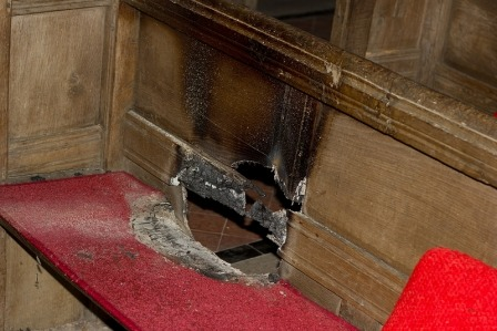 Malton Wintringham church arson (2)