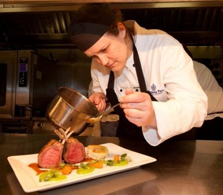 TV's Great British Menu chefs
