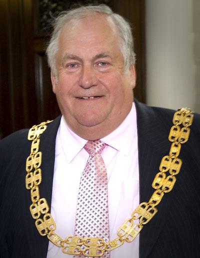 County Councillor John Fort BEM