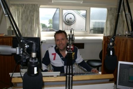 Harrogate Hospital Radio Chairman Mark Bexley