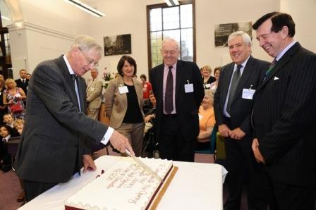 HRH Duke of Gloucester at Harrogate