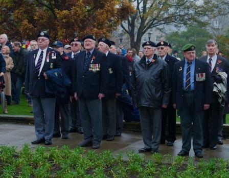 Harrogate Remembrance Sunday 2011