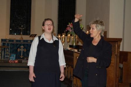 Katy Huntley and Lynne Dawson